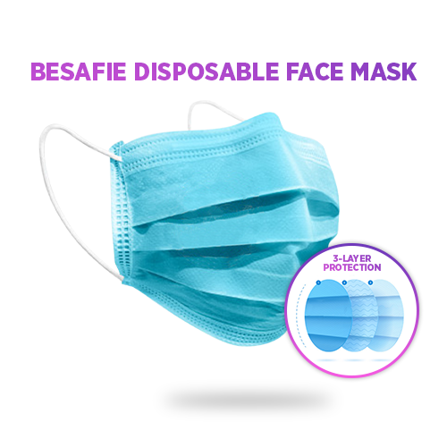 BeSafie Disposable Masks is now available on Amazon! We