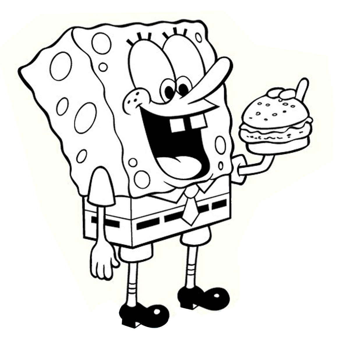 Free Printable Coloring Pages Spongebob | Spongebob Coloring Pages ...