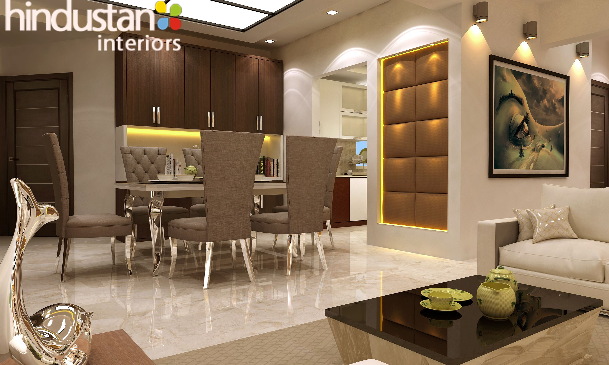 Etonnant Hindustan Interiors Offers Residential Interior Designing Services In Delhi  U2013 NCR. We Are Highly Appreciated By Our Clients For Adding Charm To Their  Home ...