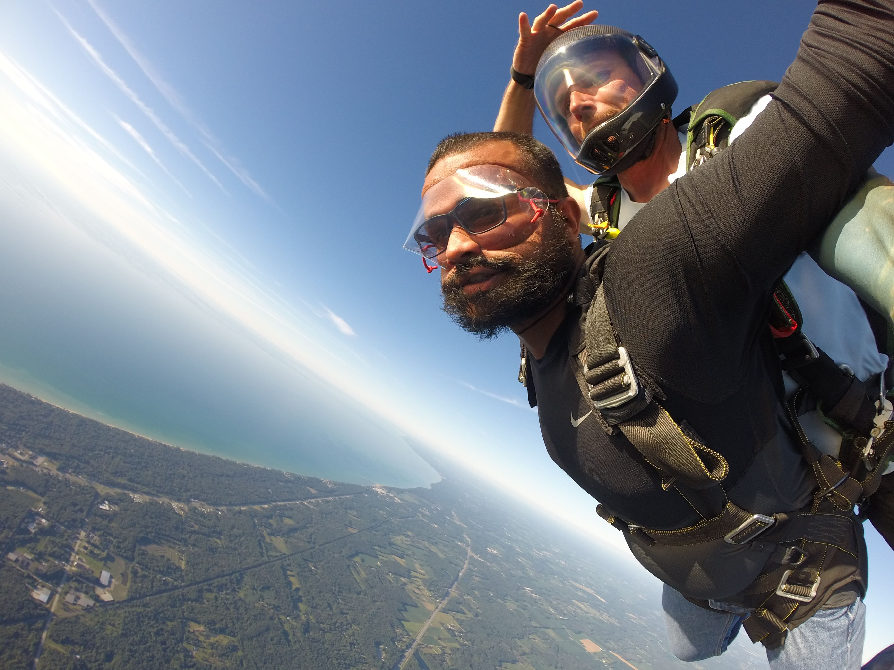 Best Skydive View In Chicago Next To Lake Michigan And See The Skyline
