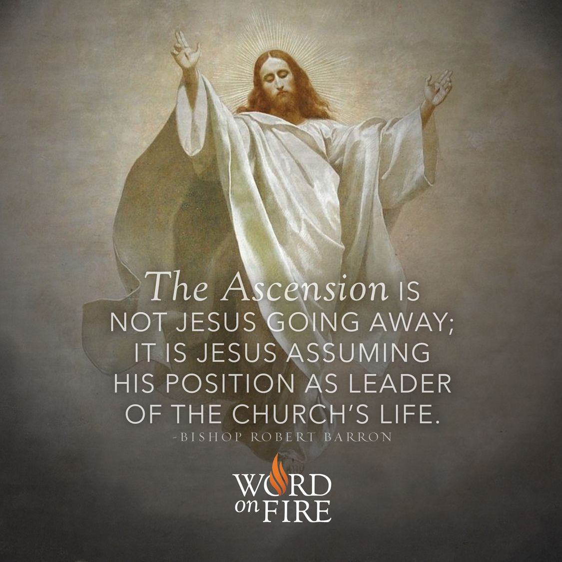 The Ascension is not Jesus going away; it is Jesus assuming his ...