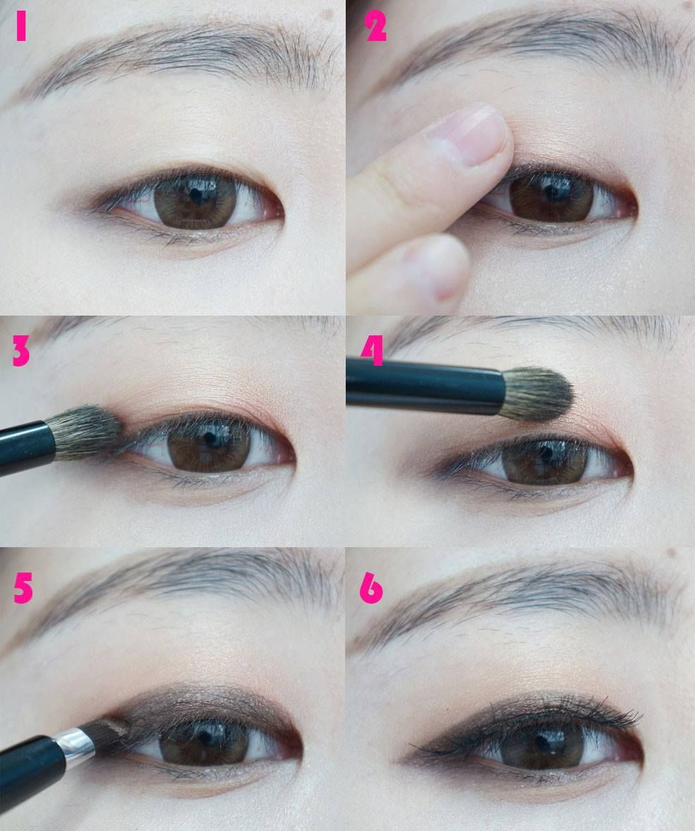 For Asian monolids Monolid eye makeup, Monolid makeup