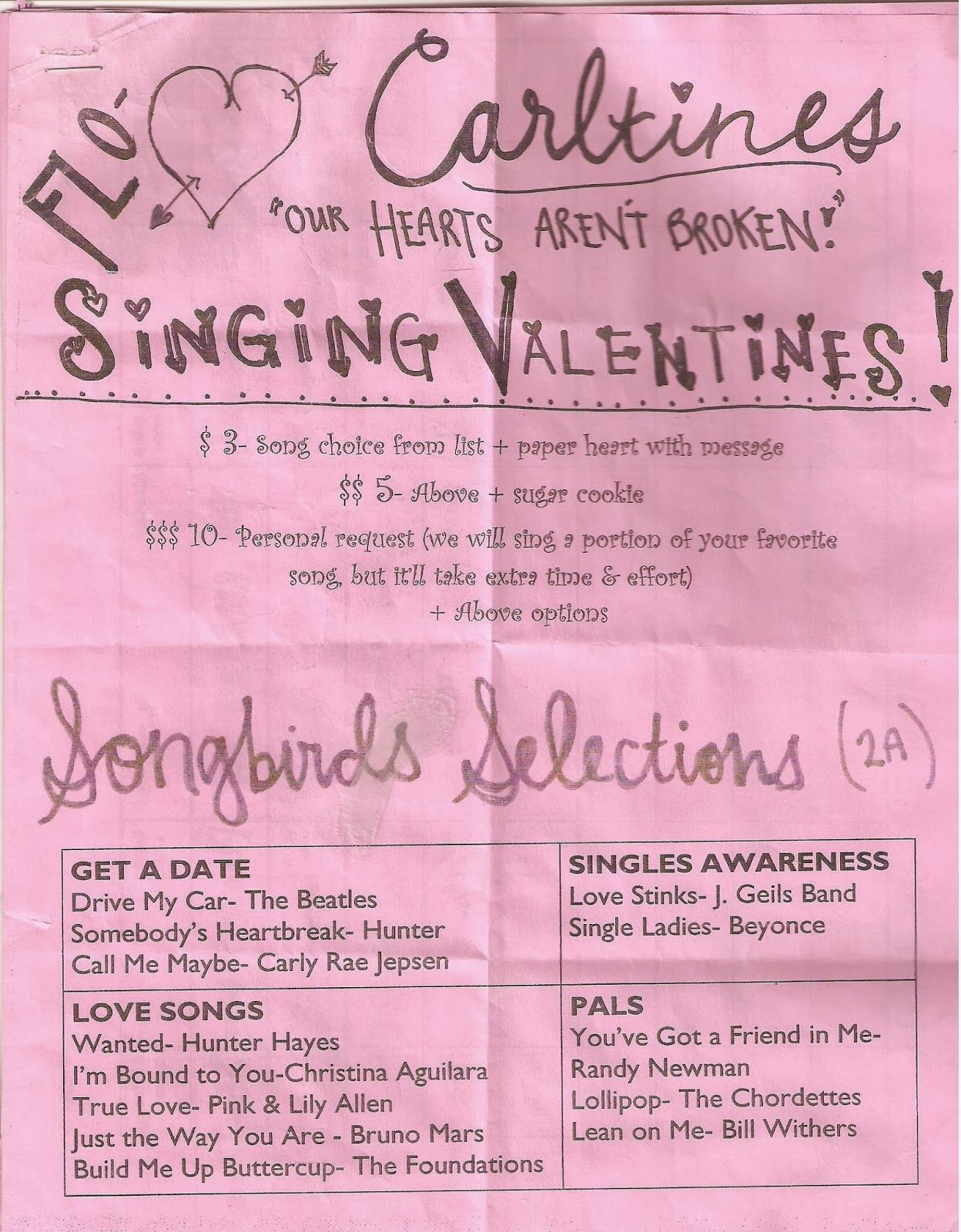 Need A Fundraiser For Your Music Program Try Singing