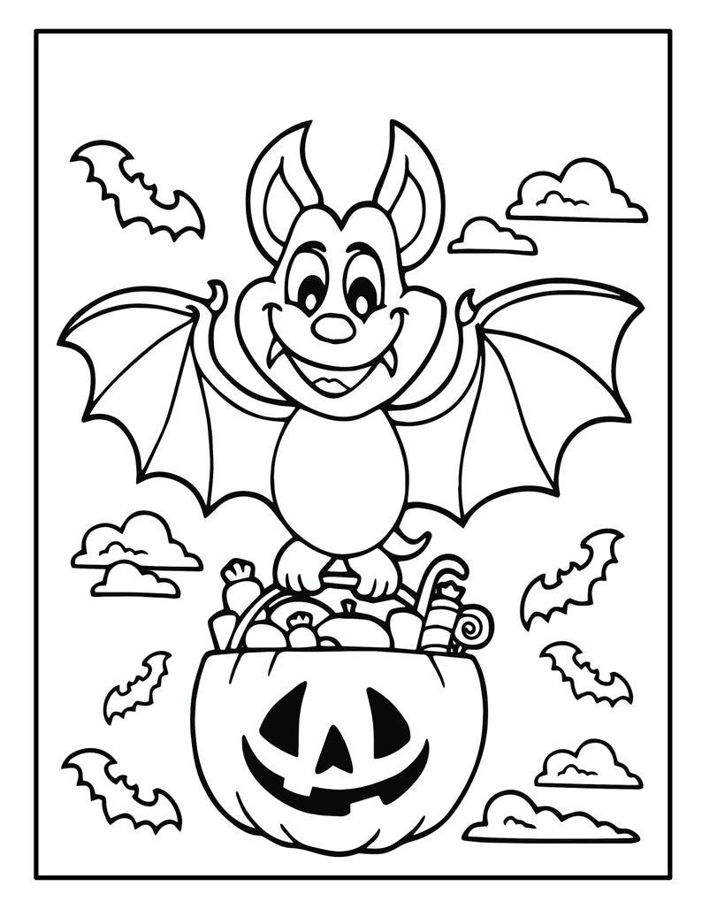 Printable Halloween Coloring Book For Kids 50 Halloween Etsy In 2021 Halloween Coloring Book Halloween Coloring Pages Halloween Coloring [ 1028 x 794 Pixel ]