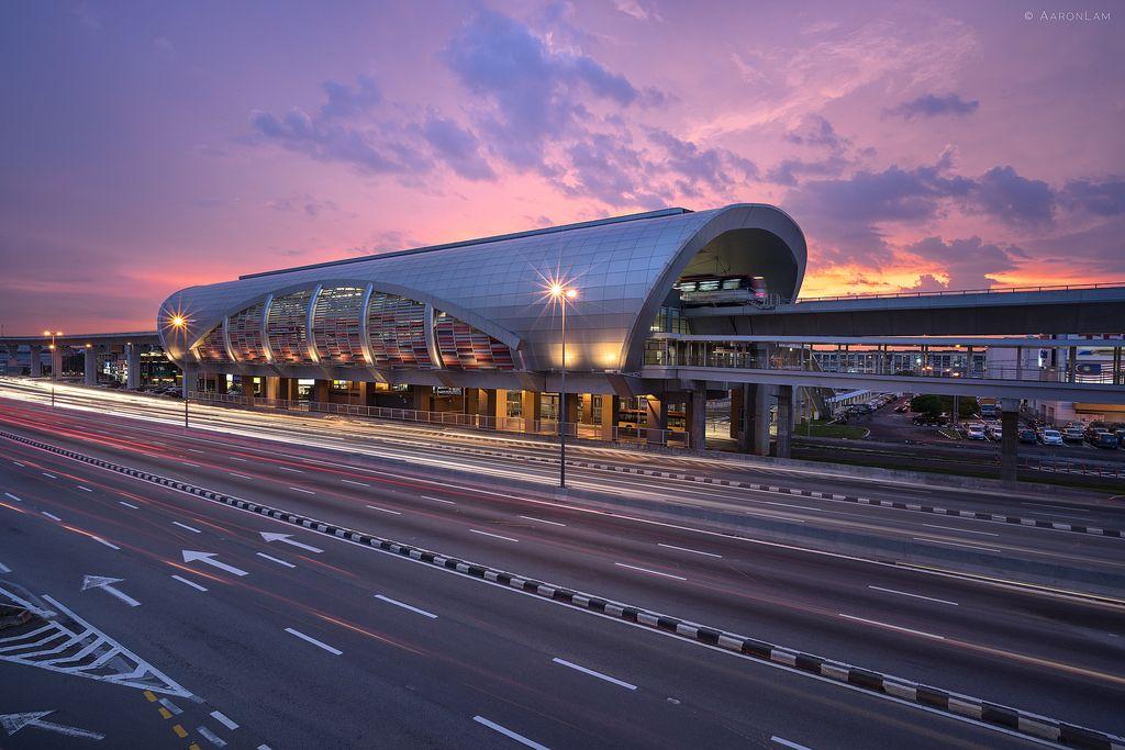 Pusat Bandar Puchong LRT Station Puchong Selangor Malaysia