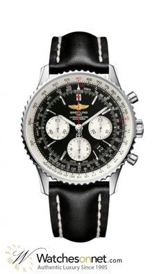 Breitling Navitimer 01 Chronograph Automatic Mens Watch, Stainless Steel, Black Dial, AB012012.BB01.436X