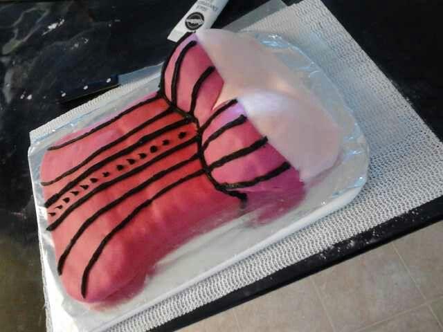 Erotic Cake Dessert Corset