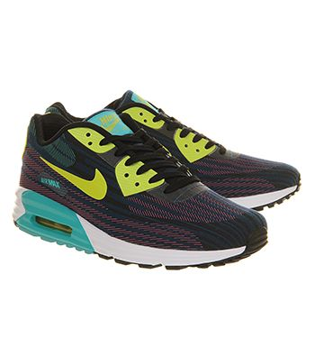 Nike Air Max 90 Lunar C3.0 Jaquard Black Green Dusty Cactus