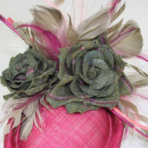 Pillar Box Rose Fascinator from the dapper English eccentric Timothy Foxx   british  fashion 9ba5d218e13