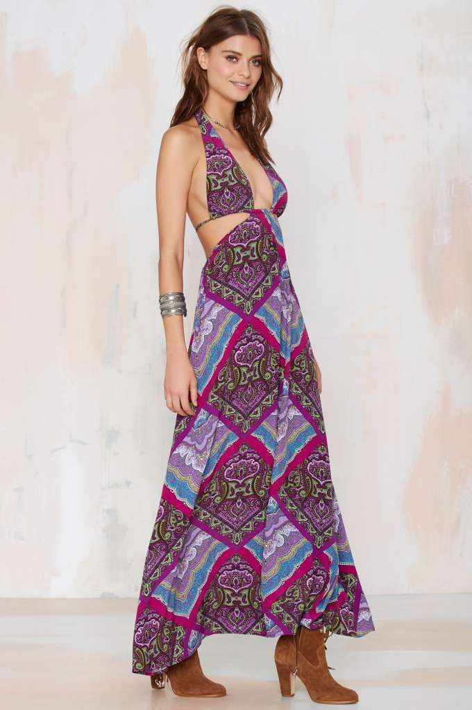 After Party Vintage Indus Paisley Dress   Style   Pinterest   Moda ...