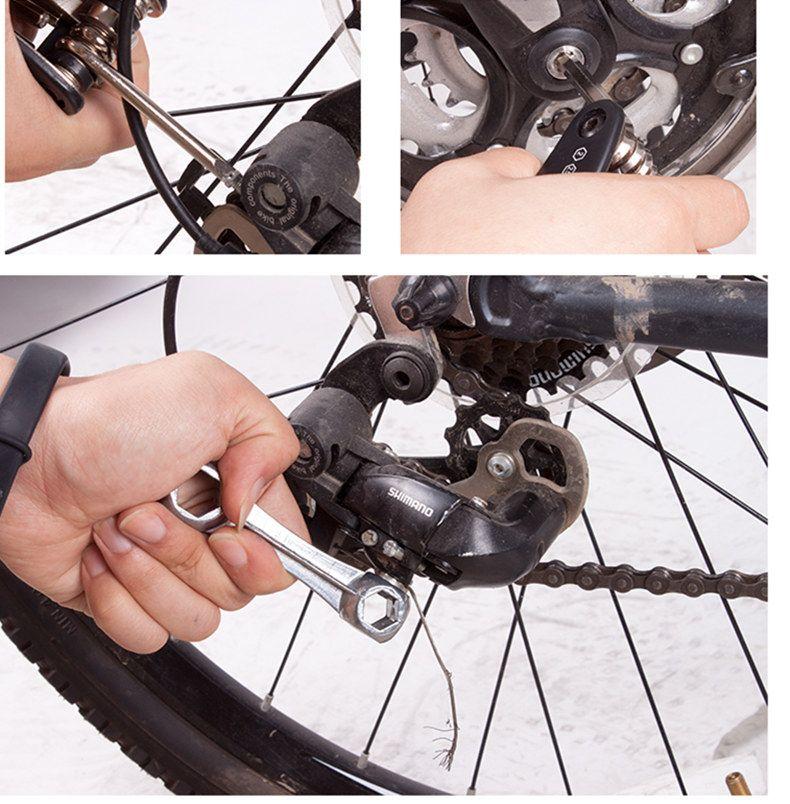 Cycling Equipment Portable Utility Combination Set w / Pump