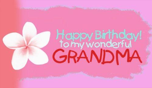 Grandma Birthday Quotes Happy Birthday Grandma Wishes Cake Ideas