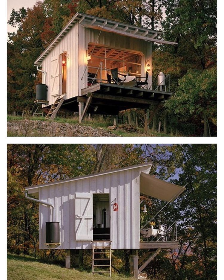 The Shack At Hinkle Farm, West Virginia By...