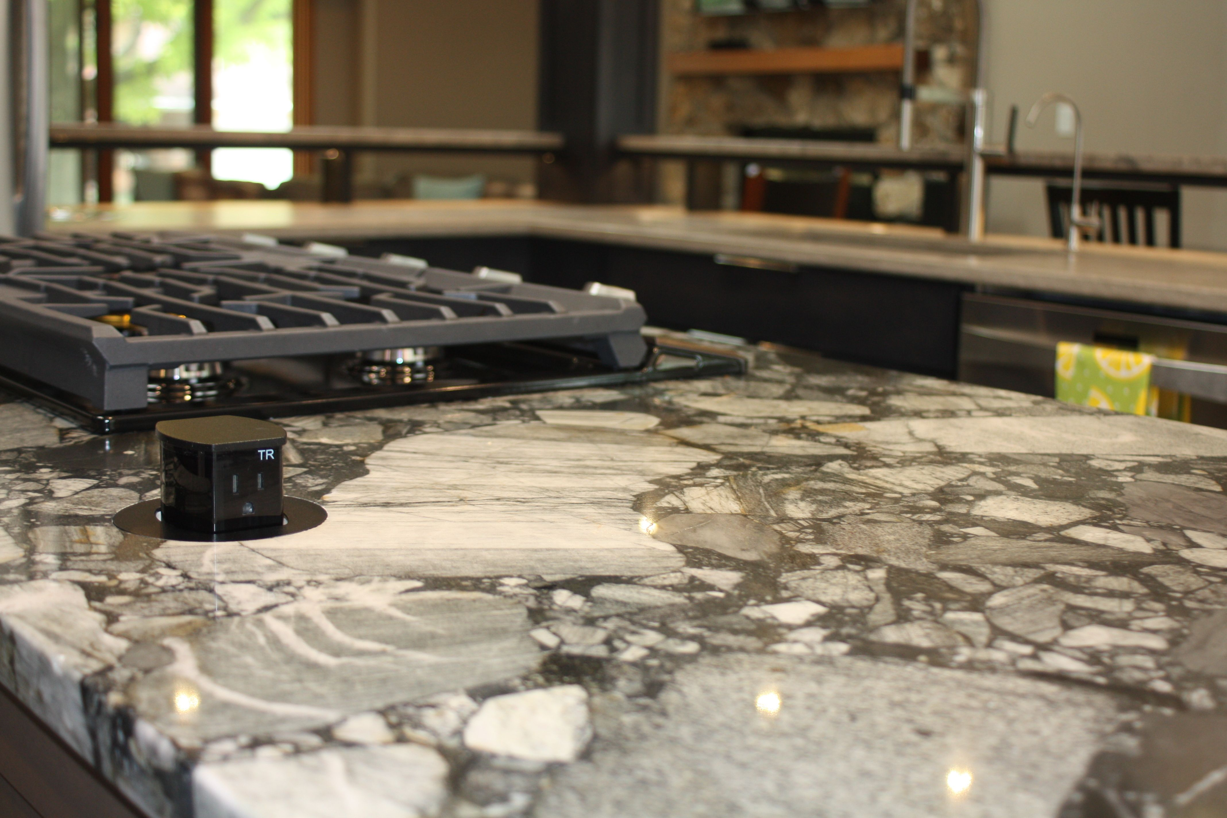 We Love Having The Pop Up Outlet On The Island Countertop