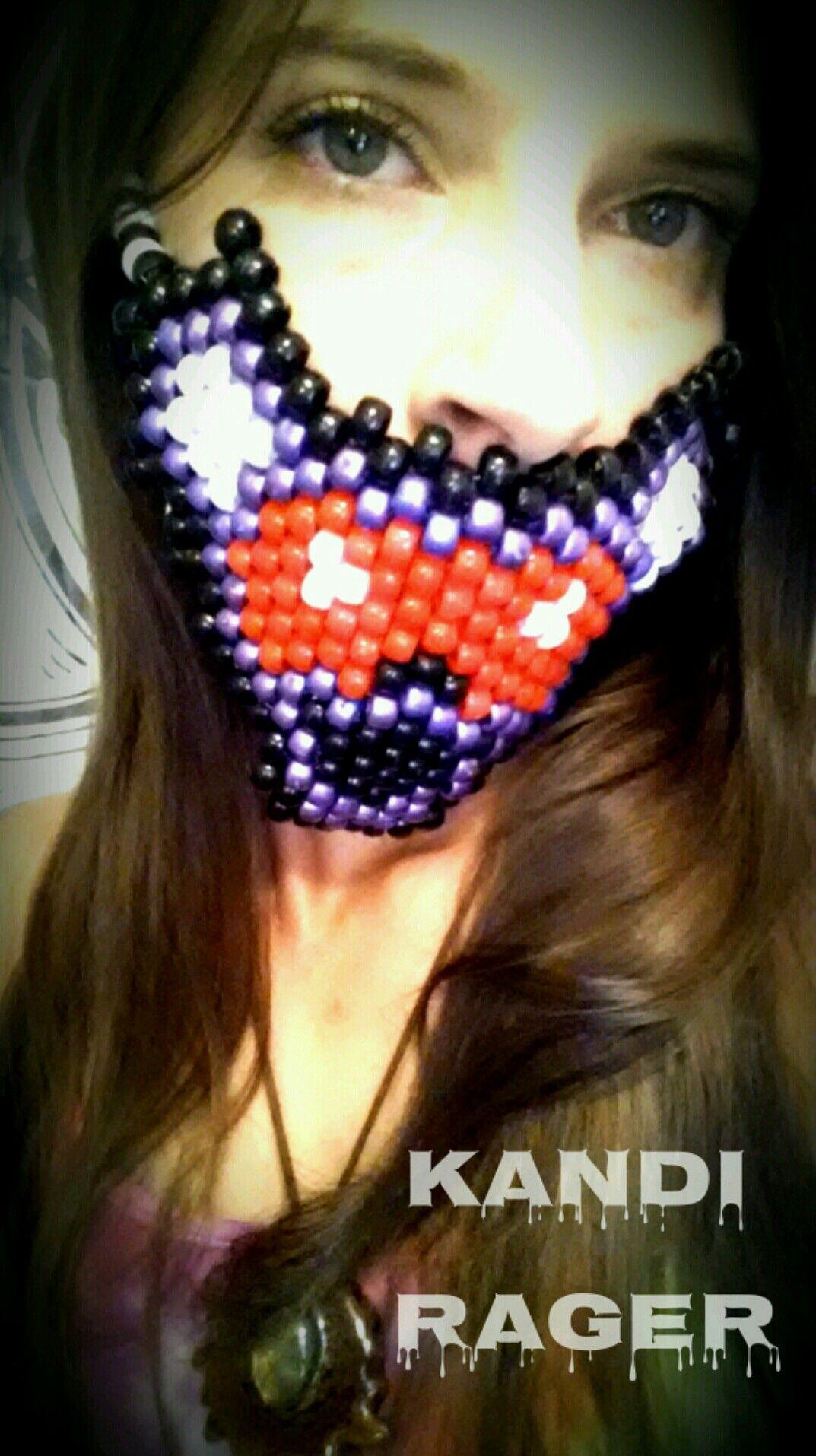 Grateful Dead Bear Kandi Mask