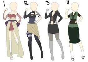 Free Adoptable Raffle (CLOSED) {Naruto Outfit} #3 by cutey ...