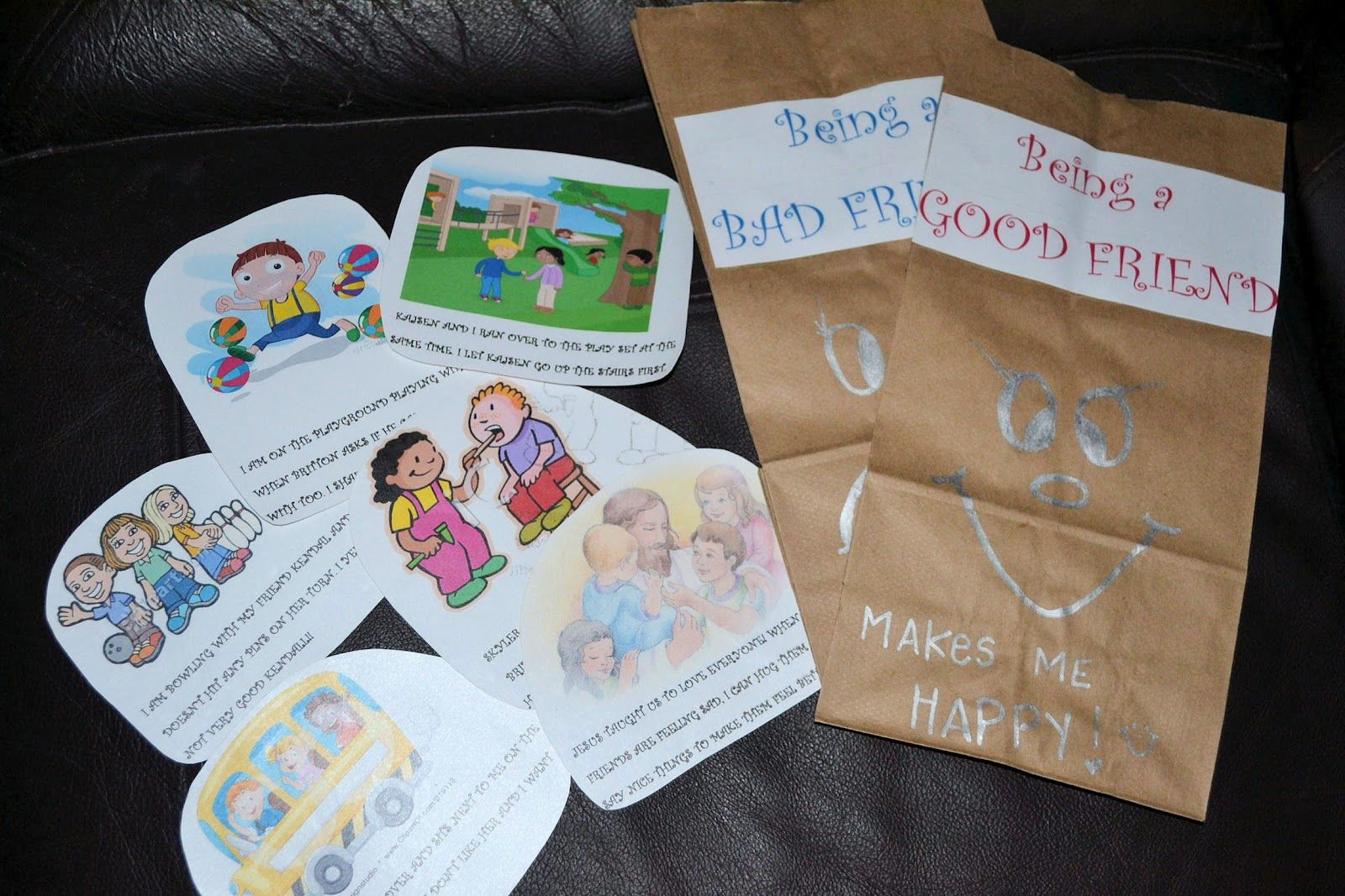 How To Be A Good Friend Book Lesson With Sorting Cards For