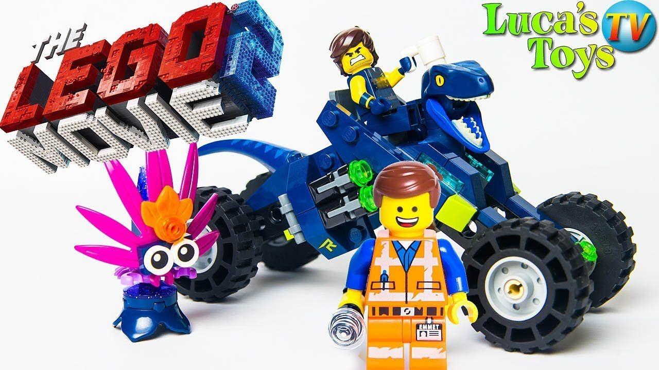 The Lego Movie 2 Rex S Rex Treme Offroader Lego 70826 Rexosaurus Quad