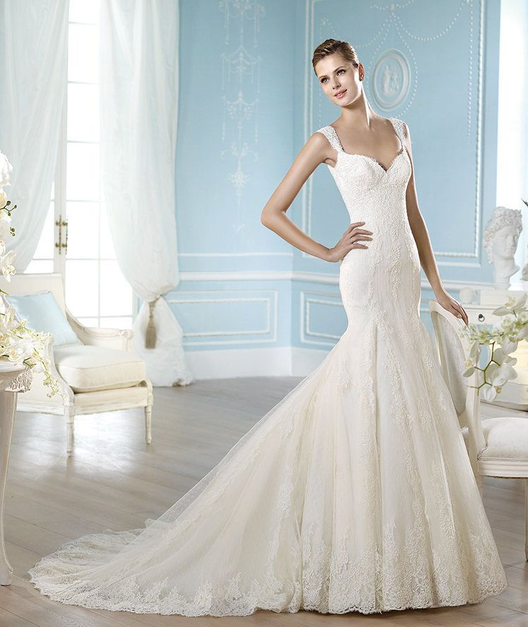 Used Designer Wedding Gowns: St. Patrick Presents Cobalto Style From Fashion 2014