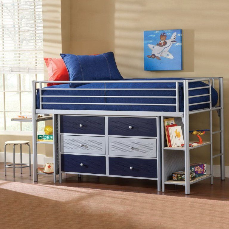 Bedroom: Graceful Ikea Bed Desk Closet Combo Also Bed Desk Storage ...