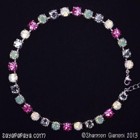 Saya Papaya Swarovski Crystal Choker 65 00 Available At Sayapapaya Com With Images Crystal Choker Swarovski Crystal Jewelry Crystal Jewelry