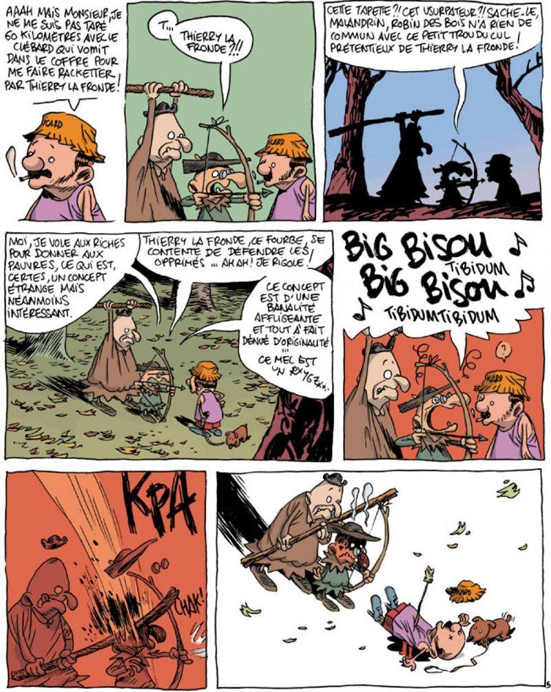 Une aventure rocambolesque de ... - tome 4 – La Légende de Robin des Bois (French Edition)