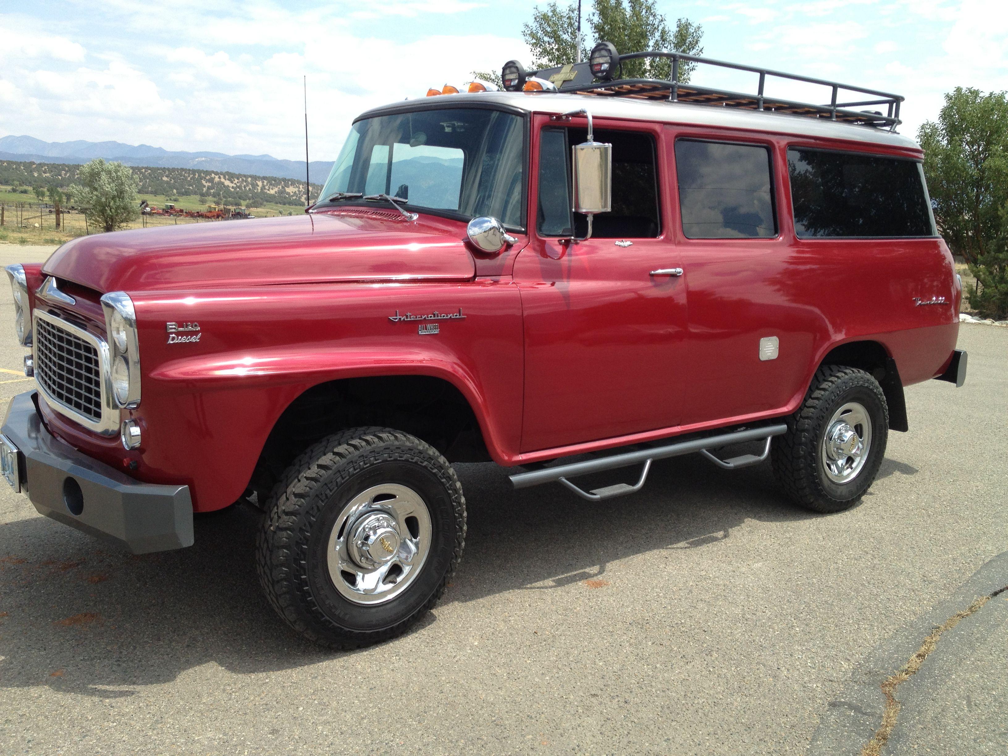 International travelall forum -  Chugwater Restomod A 1960 Ih Travelall School Bus On A 1995