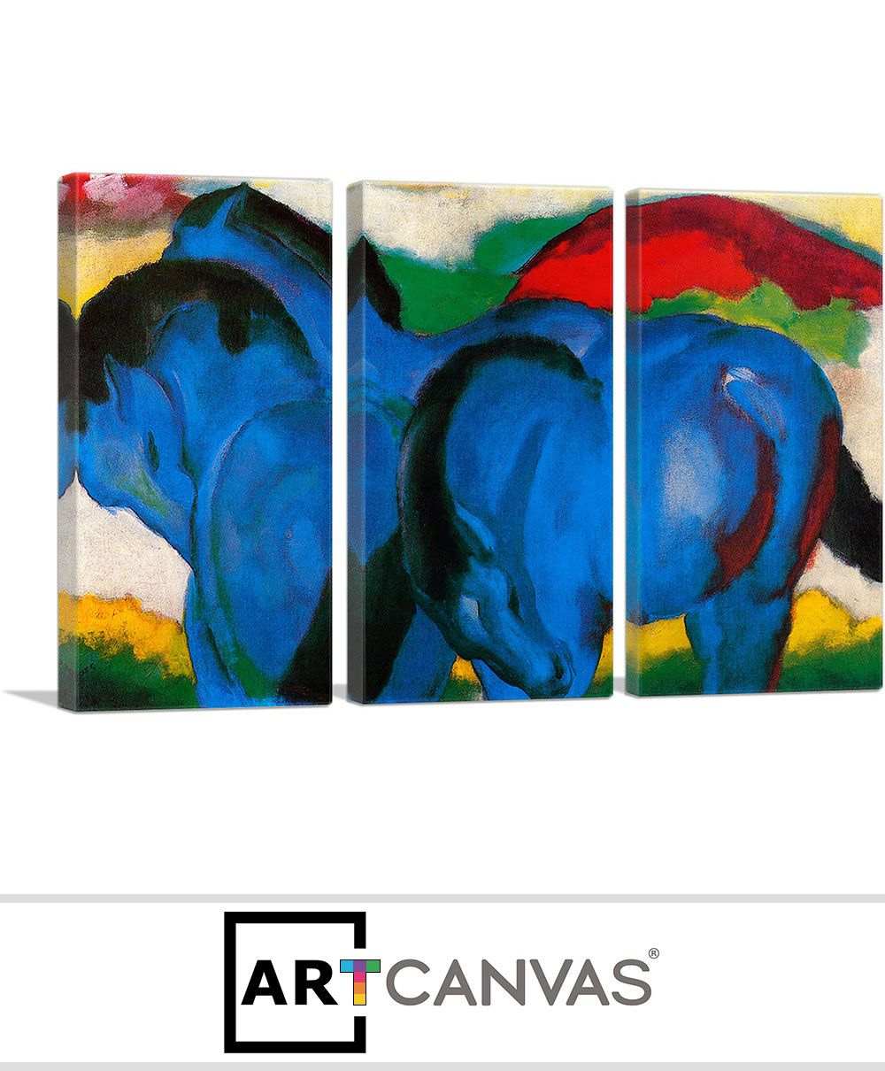 franz marc the large blue horses