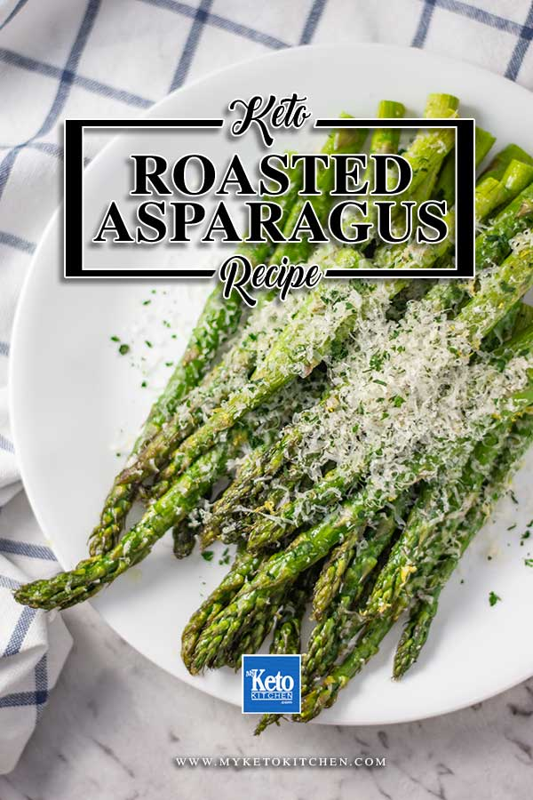 Keto Roasted Asparagus - Quick & Easy Low Carb Side Dish images