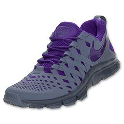 info for 6fb81 f6ed4 Men s Nike Free Trainer 5.0 Cross Training Shoes   FinishLine.com   Armory  Slate Electric Purple