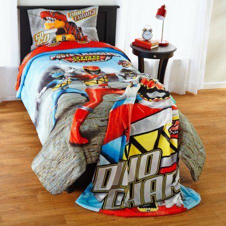 Power Rangers Dino Charge Twin Full Comforter Gray Power Rangers Dino Charge Kids Room Deco Bedroom Decor