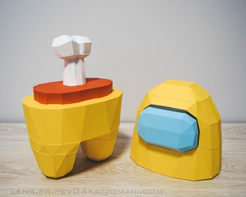 Papercraft Babyflasche