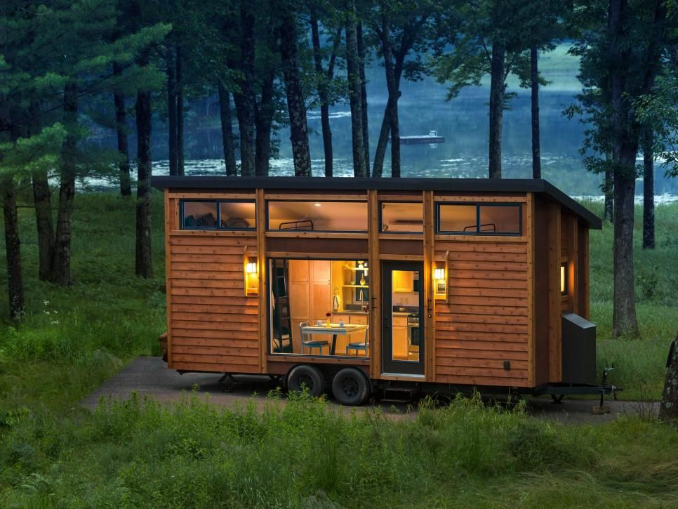 The Mobile Home Covers An Area Of 269 Square Feet And Can Accommodate Up To  Six People. Photos Courtesy Of ESCAPEhomes