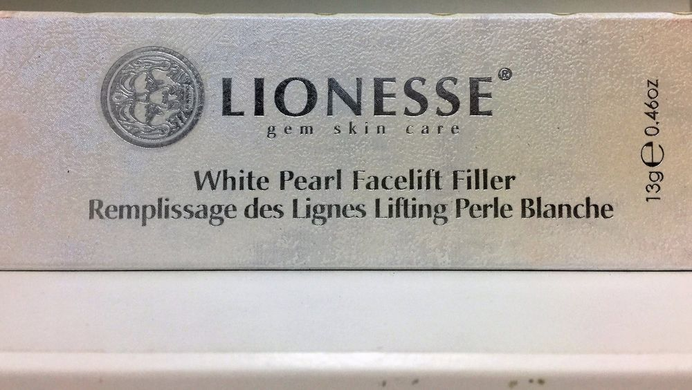 New Lionesse Gem Skin Care White Pearl Facelift Filler 13g 0 46oz Free Shipping Pearl White Skin Care Facelift
