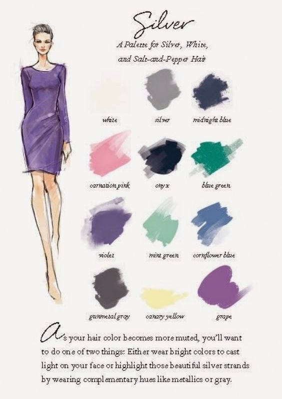 Image Result For What Color Clothes Should Women With Gray Hair Wear Grey Hair White Hair Hair Clothes