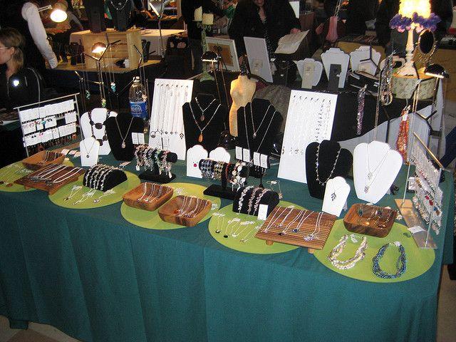 Fab Fair Display Jewelry Table Display Craft Display Craft Table Display