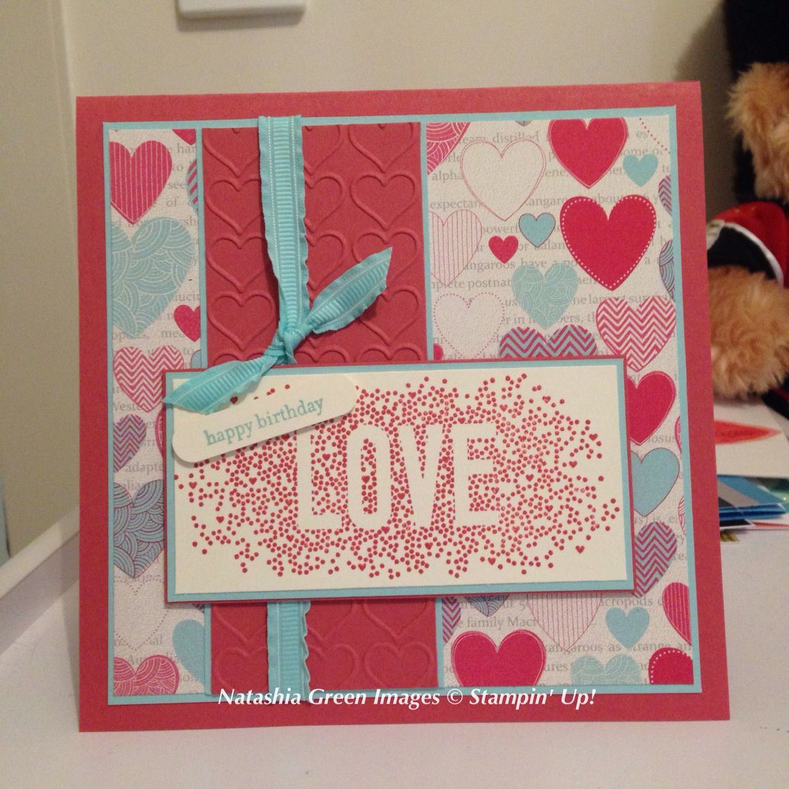 Seasonally Scattered- Stampin' Up!