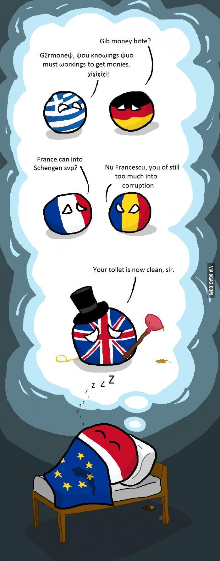 """Sweet dreams of Poland""  #polandball #countryball #flagball"