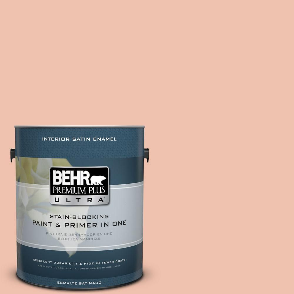 BEHR Premium Plus Ultra 1-gal. #M180-3 Flamingo Feather Flat ...