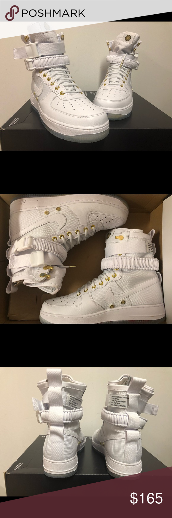 great fit ca5d8 68747 Nike SF AF1 LNY QS Chinese Lunar New Year White 100% authentic and  deadstock Box lid was removed for display Fast shipping Nike Shoes Sneakers
