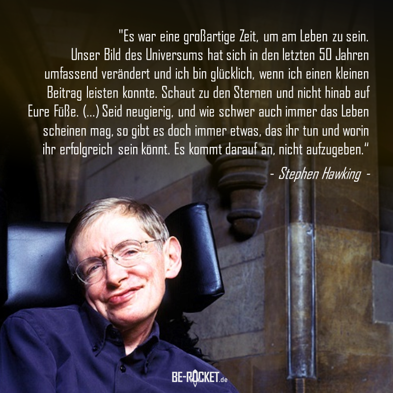 A short sweep through space and time about exceptional physicist and personality Stephen Hawking, Category citation index daily direct experiments fiction hub