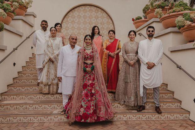 Stunning wedding in California in the Deepika Padukone ...