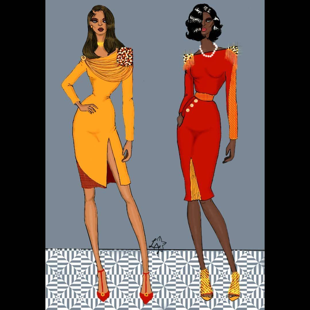Happy Sunday Folks!!! ....Happy Sunday Folks!!! .  .  .  .  #fashion #womensfashion #woman #fashionista #fashionillustrator #fashionillustration #fashionsketch #digitalillustration #digitalart #croquis #fashioncroquisbooks #fashioncroquisbooks #fashioncroquissketchbooks #autodesksketchbook #autodesk #fashionfeature #fashionfeature007 #naijafashionista #naijafashiondaily #naijafashiongallery #naijafashion #naijafashionillustration #blackhistorymonth #igfashion #fashionfigure #fringes #epaulettes