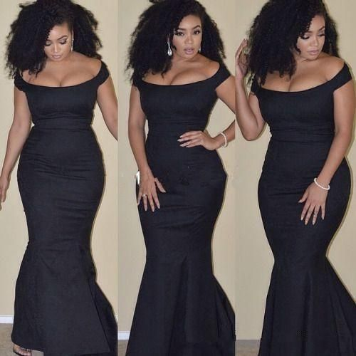 Plus Size Mermaid Satin Evening Dress Pageant Party Formal Celebrity