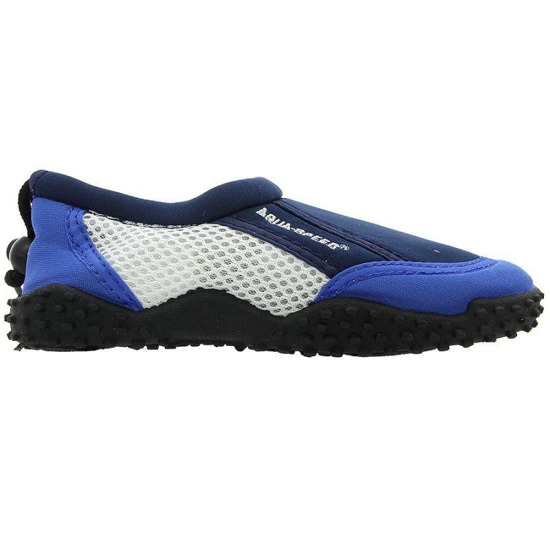 Buty Plazowe Neoprenowe Aqua Speed Jr Granatowe Wielokolorowe Wielokolorowe Aqua Brooks Sneaker Shoes