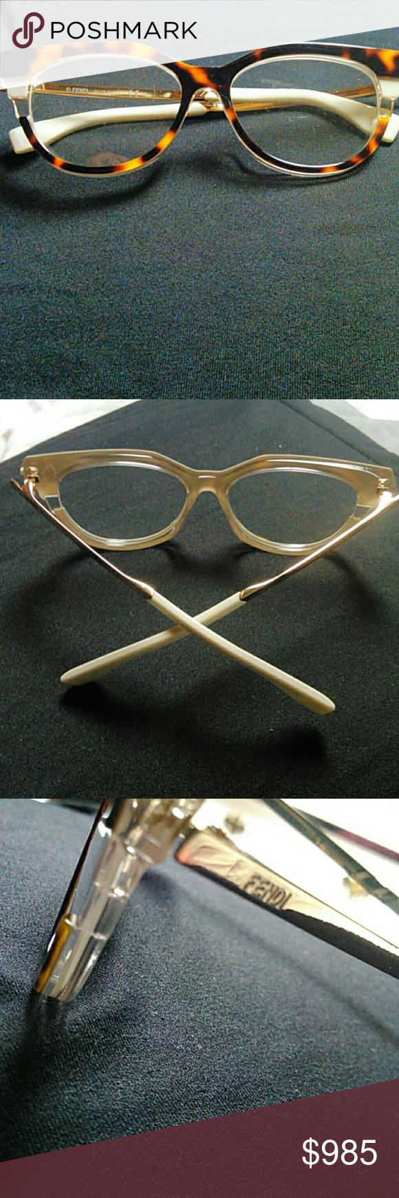 d7544fdf8a7 Authentic FENDI EYEGLASSES REASONABLE OFFERS WELCO Fendi rare metropolis  o culos de grau frames Fendi Accessories Glasses