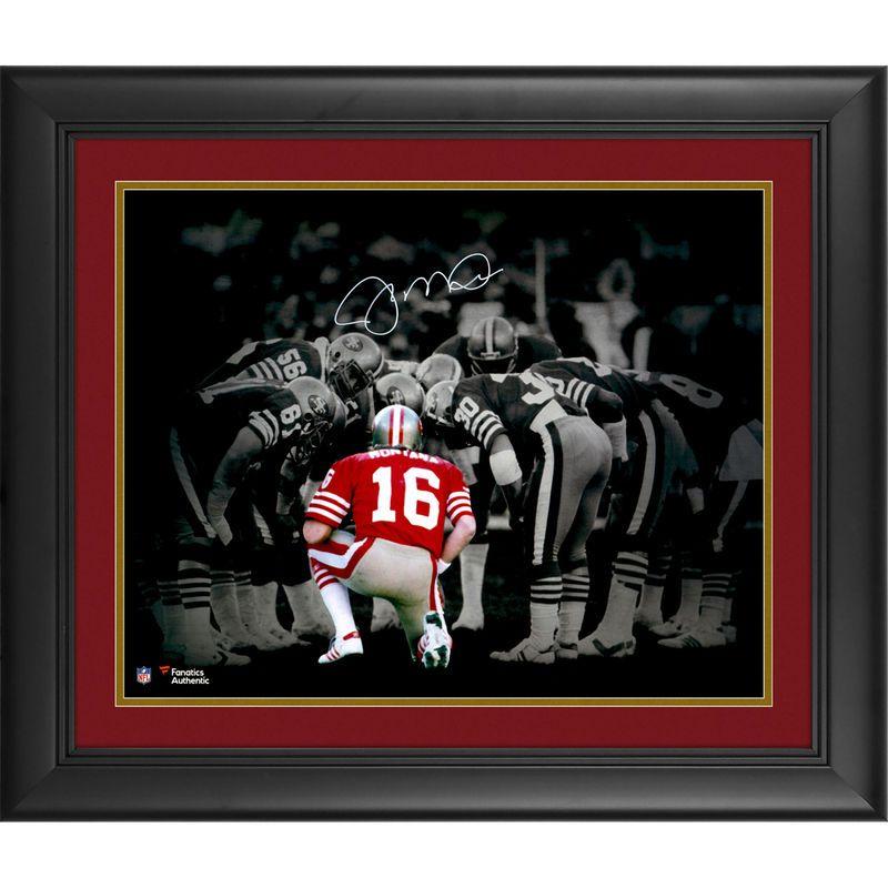 new styles 4b2aa 1b384 Joe Montana San Francisco 49ers Fanatics Authentic Framed ...