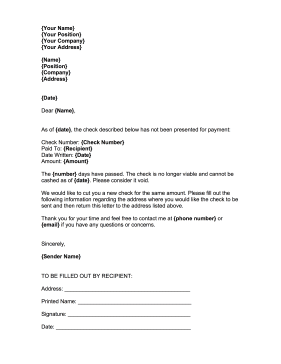 Stop Payment This Free Printable Stop Payment Letter Is Great For