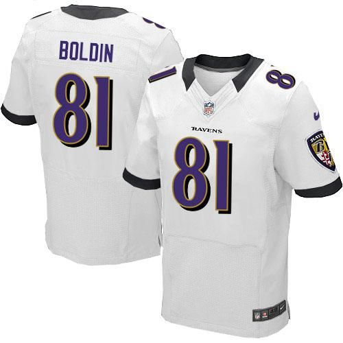 8292b3b7c greece nike nfl baltimore ravens 81 anquan boldin elite white road jersey  sale a9330 6761d