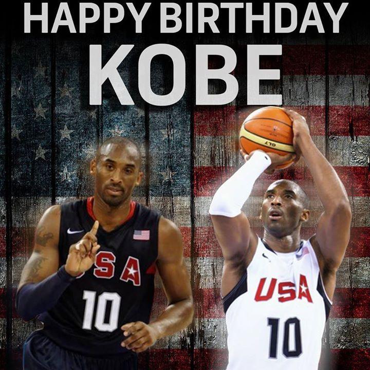 Happy Birthday Kobe Bryant!! NBCSports (With images